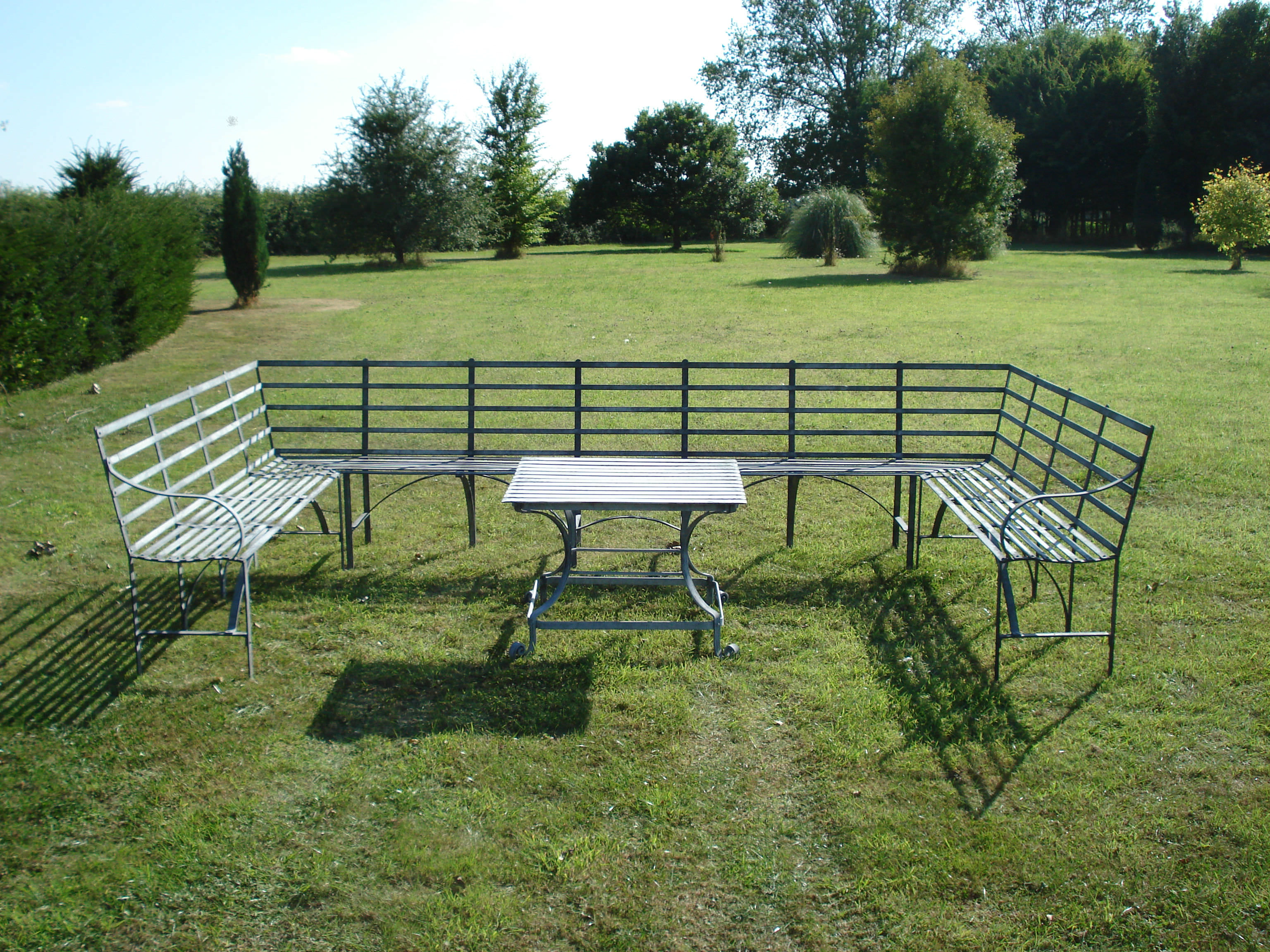 bespoke traditional garden furniture from gedding mill - Garden Furniture Traditional