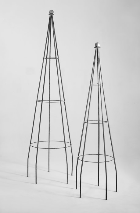 Metal Garden Obelisks Are Regularly In Production At Gedding Mill And Can  Really Transform Any Garden. Garden Obelisks Are Great Individual Features.